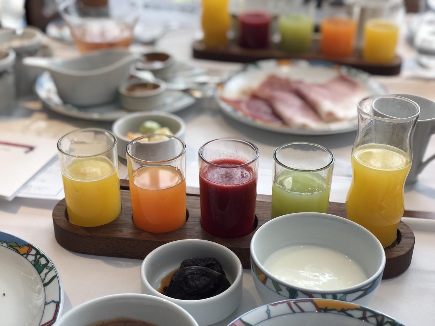 朝食 ホテル 神戸 北野
